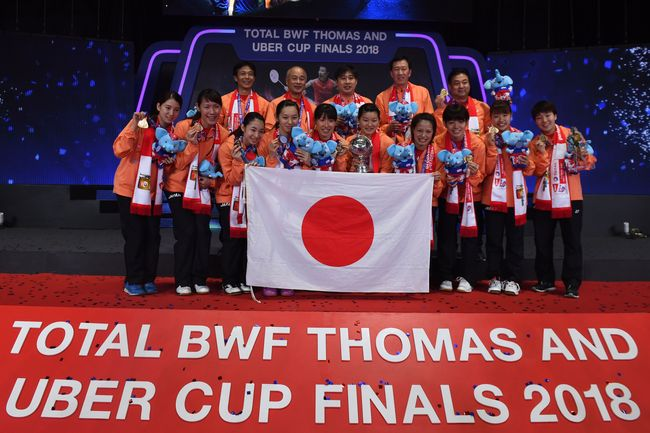 Sungguh, Doraemon Tak Bantu Jepang di Piala Thomas-Uber 2018