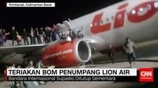 Teriakan Bom Penumpang Lion Air