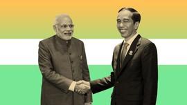 INFOGRAFIS: Relasi RI-India, dari Soekarno hingga Joko Widodo
