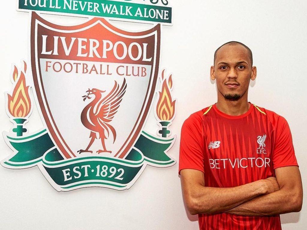 Fabinho didatangkan Liverpool dari AS Monaco seharga 50 juta euro. Foto: Instagram @liverpoolfc