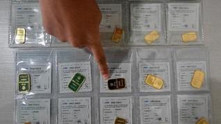 Harga Emas Antam Cuma Naik Rp1.000 per Gram di Awal Pekan