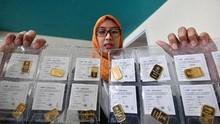 Emas Antam Melemah ke Rp768 Ribu per Gram pada Akhir Pekan