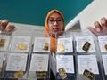 Emas Antam Turun ke Rp752 Ribu per Gram
