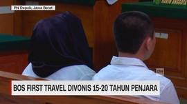 Bos First Travel Divonis 15-20 Tahun Penjara