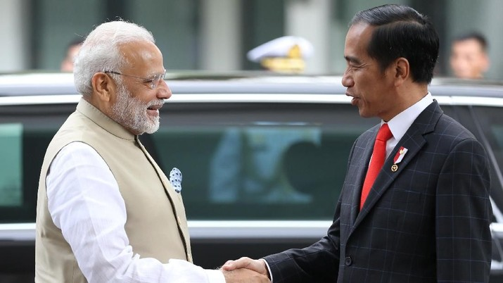RI-India akan bekerja keras mencapai kesimpulan perundingan blok dagang Regional Comprehensive Economic Partnership (RCEP).