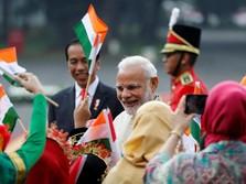 Diaspora India Sambut Meriah Kunjungan PM Modi ke RI