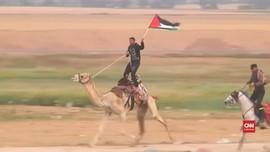 VIDEO: Saat Mortir dari Gaza Diadang Sistem Pertahanan Israel