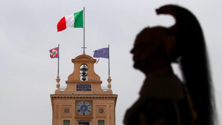 Kasus corona meningkat di Italia, pemerintah kunci seluruh negara.