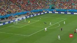 VIDEO: Gol 'Terbang' Van Persie di Piala Dunia 2014