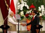 Bertemu Modi, Jokowi Teken 15 MoU dengan India