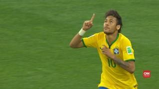 VIDEO: Gol Perdana Neymar di Piala Dunia