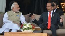 PM India Ucapkan Selamat ke Jokowi Pakai Bahasa Indonesia