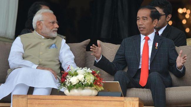 Temui Jokowi, PM India Serukan Kerja Sama Lawan Terorisme