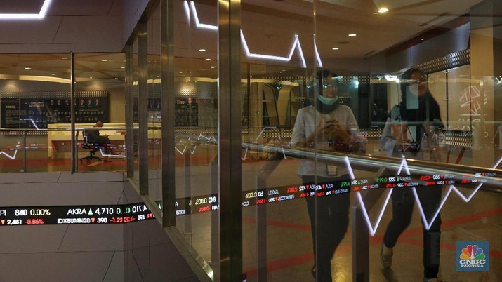 IHSG melemah 0,49% pada perdagangan hari ini ke level 6.065,26.