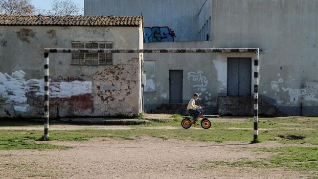 Kawasan urban merupakan sarat utama untuk mengamati perkembangan sepak bola di Rusia. (REUTERS/ Pavel Rebrov)