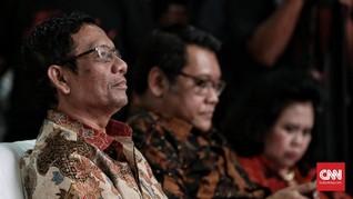 Mahfud MD Belum Diajak Bicara Jokowi soal Bursa Cawapres