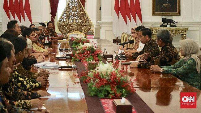 Terima Peserta Kamisan, Jokowi Disebut Lebih Banyak Mendengar
