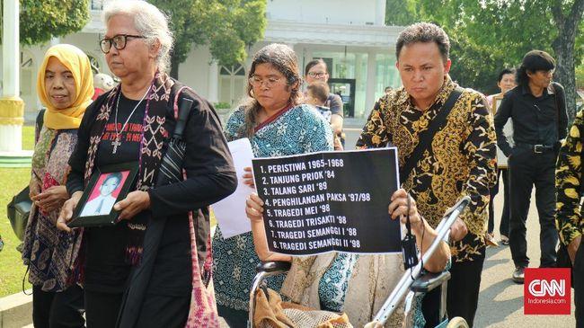 Bertemu Aktivis, Jokowi Dapat Surat Pengakuan Pelanggaran HAM