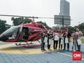 Tujuh Orang Terbang di Atas Jakarta Bersama CNN Indonesia