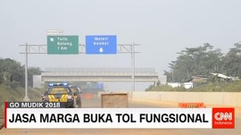 Jasa Marga Buka Tol Fungsional