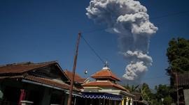 Gunung Merapi Semburkan Awan Panas Hingga 1100 Meter