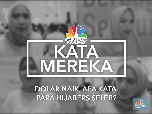 VIDEO: Dolar Naik, Apa Kata Para Hijaber Seleb?