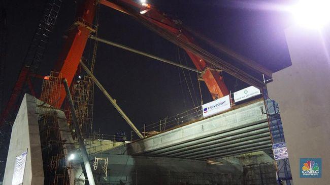 WSKT Cross Girder di Kalikuto Jatuh, Waskita: Tak Hambat Proyek