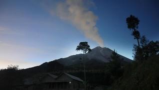 Gunung Merapi Embuskan Awan Panas Sejauh 1.200 Meter