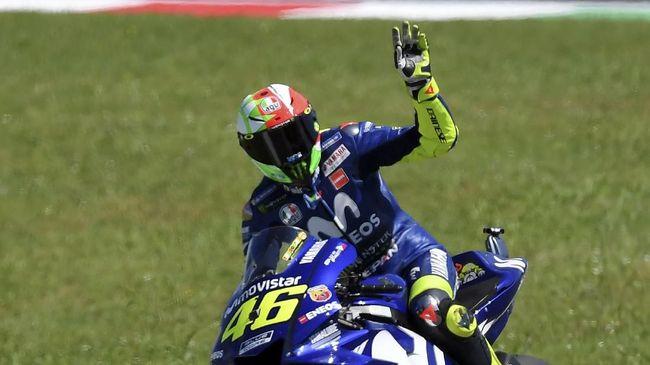 Rossi Percaya Diri, Marquez Ketakutan Hadapi MotoGP 2020