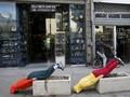 FOTO: Lekuk Tubuh di Relung-relung Kota