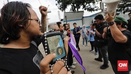 Aksi Pekerja Media Desak Polri Usut Kasus PDIP di Radar Bogor