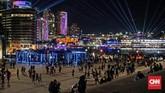 Vivid Sydney tahun ini digelar sejak 25 Mei hingga 16 Juni 2018, sekaligus merayakan pergantian musim semi ke musim panas.