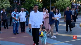 VIDEO: Jokowi Ajak Jan Ethes Liburan di Dufan