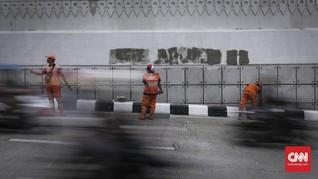Sandi: Vandalisme di Underpass Mampang Perbuatan Terkutuk