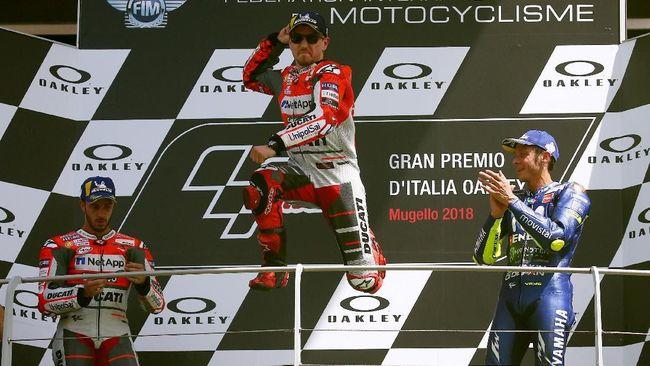 Valentino Rossi Puji Penampilan Lorenzo Bersama Ducati