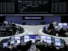 Potensi Damai Dagang Besar, Bursa Eropa Merangkak Naik