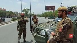 VIDEO: Bom Dekat Pertemuan Ulama Afghanistan, 8 Orang Tewas