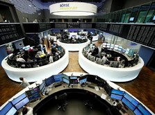 Bursa Eropa Dibuka di Teritori Negatif Sambut Kabar PDB China