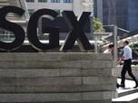 Ekspor Singapura Anjlok, Indeks Straits Times Amblas
