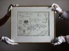 Wow, Gambar Sketsa Winnie the Pooh Dilelang hingga Rp 1,6 M