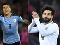 Uruguay vs Mesir, Adu Tajam Suarez dan Mohamed Salah