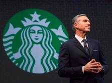 Pejabat Starbucks Mundur, Digosipkan Akan Jadi Calon Presiden