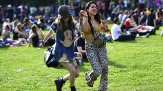 FOTO: Gembira Loka 'Field Day Festival' di Taman London