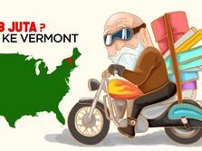 Pindah Kerja ke Vermont Bisa Dapat Rp 138 Juta
