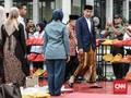 Jokowi Letakkan Batu Pertama Menara MUI di Bambu Apus