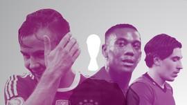11 Pemain Buangan Piala Dunia 2018