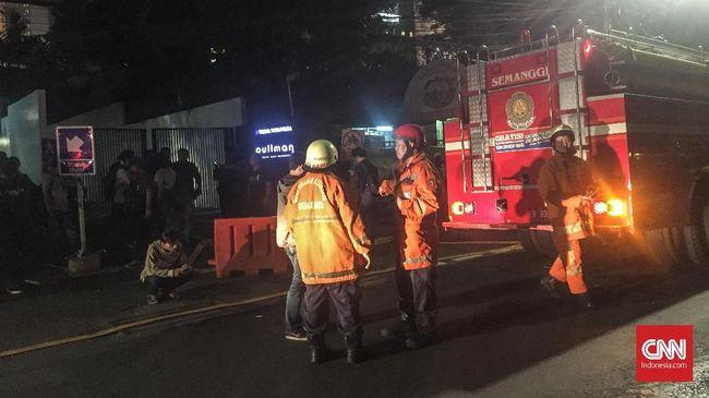 Kebakaran di Utan Kayu Diduga karena Anak Main Lilin