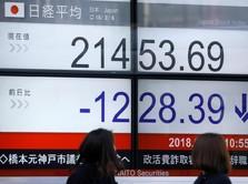 Bursa Jepang Dibuka Melemah Akibat Panasnya Perang Dagang