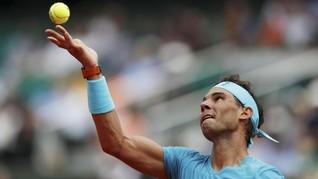 FOTO: Rafael Nadal Belum Tersentuh di Prancis Terbuka