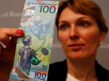 Bank Sentral Rusia Cetak Uang Kertas Khusus Piala Dunia 2018